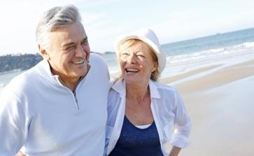 Bild glücklich in Rente